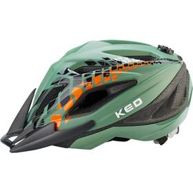 KED Street Jr. Pro Kask rowerowy Dzieci, olive